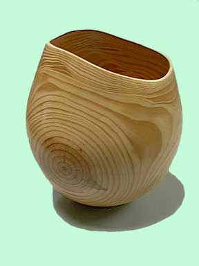 Green wood for woodturning